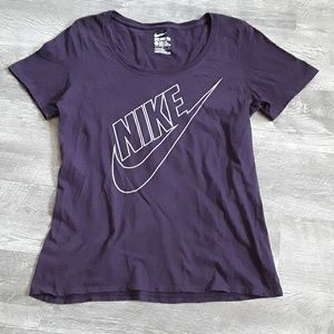 Purple Nike Athletic Cut t-shirt, L